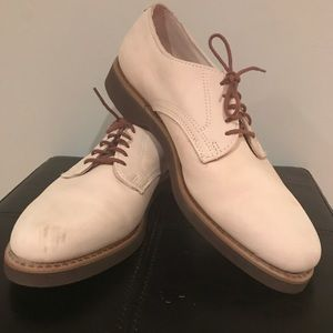 Dexter Off White/Cream Leather Full Cut Oxford
